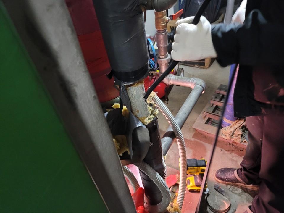 기계설비배관고압세척